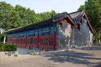 济南清代建筑巡抚院署大堂外观