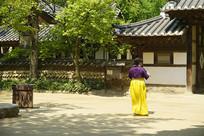韩国古建庭院