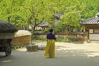 韩国民俗村传统庭院