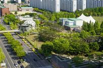 韩国水原城市公园及露天音乐厅