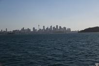 悉尼城市海平面
