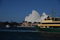 悉尼歌剧院侧面