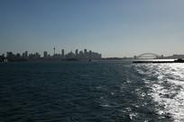 悉尼建筑海港大桥远眺