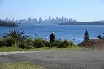 远眺悉尼城