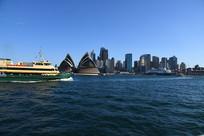 远眺悉尼歌剧院