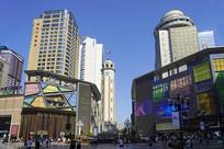 重庆解放碑CBD商圈建筑