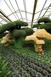 寿光菜博会景观树