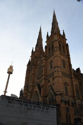 澳大利亚悉尼圣玛丽大教堂