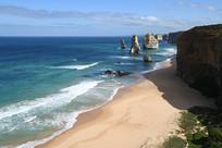 澳洲大洋路十二门徒海滩