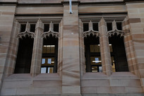 澳洲悉尼圣玛丽大教堂欧式窗户