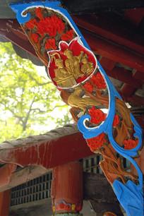 都江堰二王庙木雕装饰