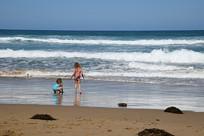 海边的童真