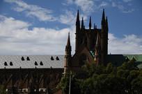圣玛丽大教堂城堡局部