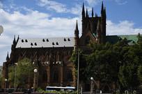 圣玛丽大教堂正面