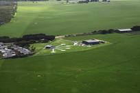 直升机场远眺