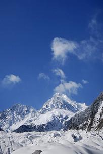 海螺沟冰川 粒雪盆 冰瀑景观