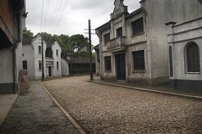 影视老街图