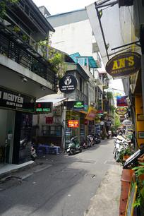 越南河内餐饮休闲风情街