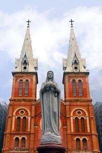 越南胡志明市圣玛利亚大教堂