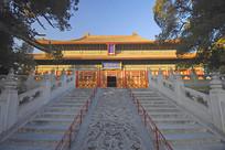 北京孔庙主体建筑大成殿外景