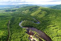 大兴安岭北部原始森林阿巴河