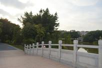 广州儿童公园桥边景观