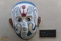 京剧脸谱白象