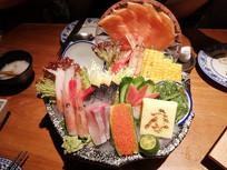 海鲜拼盘美食