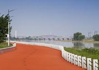 湿地公园跑步步道