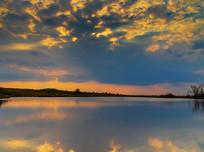 海天一线的龙里姊妹湖