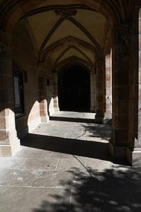墨尔本大学古建筑长廊
