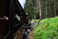 墨尔本小火车