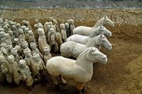 徐州汉兵马俑博物馆战阵