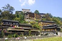 贵州西江千户苗寨建筑