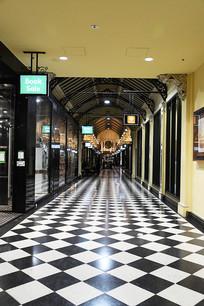 墨尔本地标皇家拱廊
