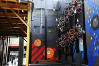 墨尔本街头自行车展示