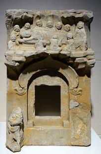 唐代石刻涅槃像
