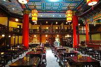 传统民俗茶社(老茶馆)古典建筑