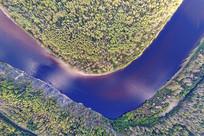 大兴安岭林区激流河风光