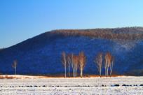 大兴安岭山林雪景