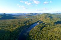 大兴安岭原始森林激流河