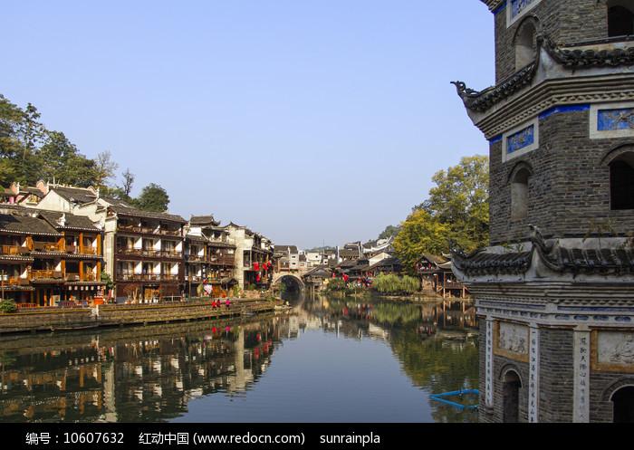 凤凰古城虹桥图片