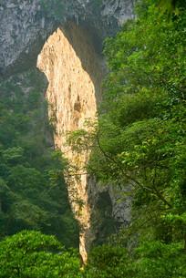 贵州黔南荔波大七孔景区天生桥