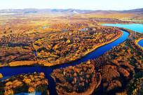 呼伦贝尔扎敦河之秋