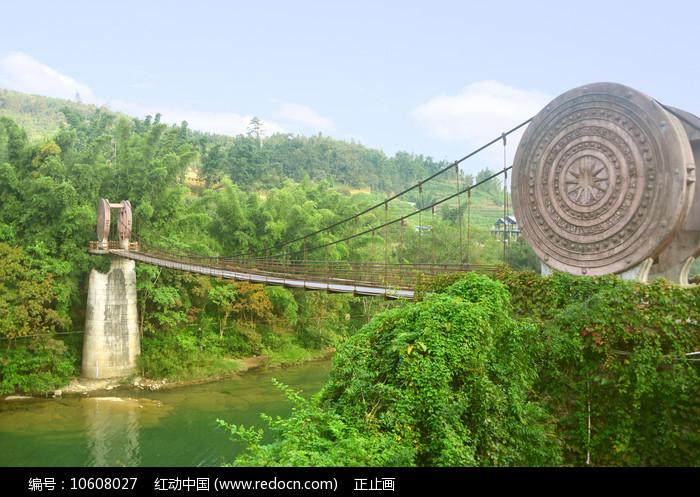 荔波小七孔景区樟的铜鼓桥 图片