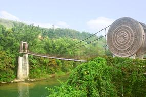 荔波小七孔景区樟的铜鼓桥