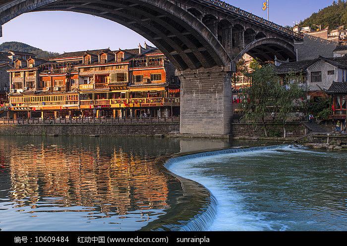 沱江凤凰大桥 图片