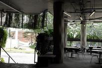 宾馆茶餐厅