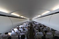 客机机舱行旅舱