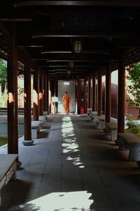 玉佛寺回廊